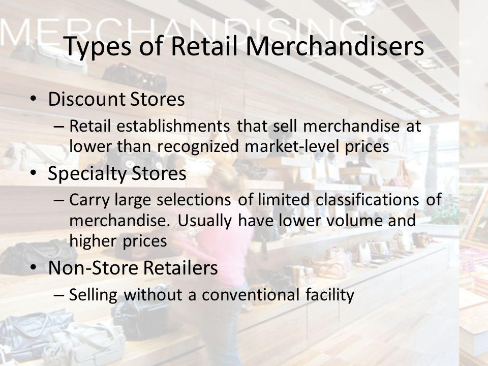 Types of Retail Merchandisers