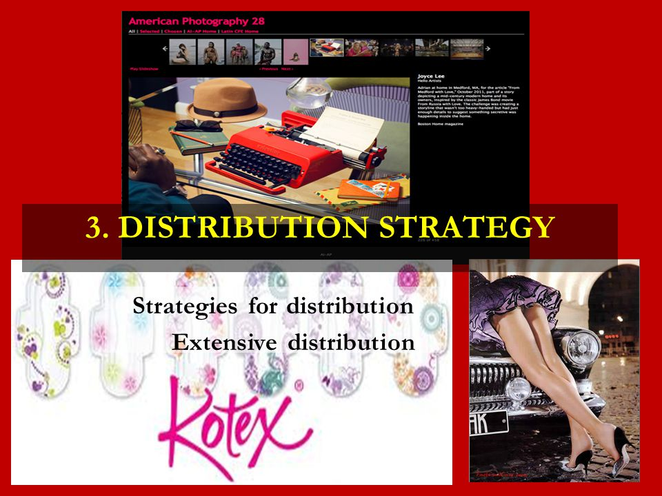 3. Distribution Strategy