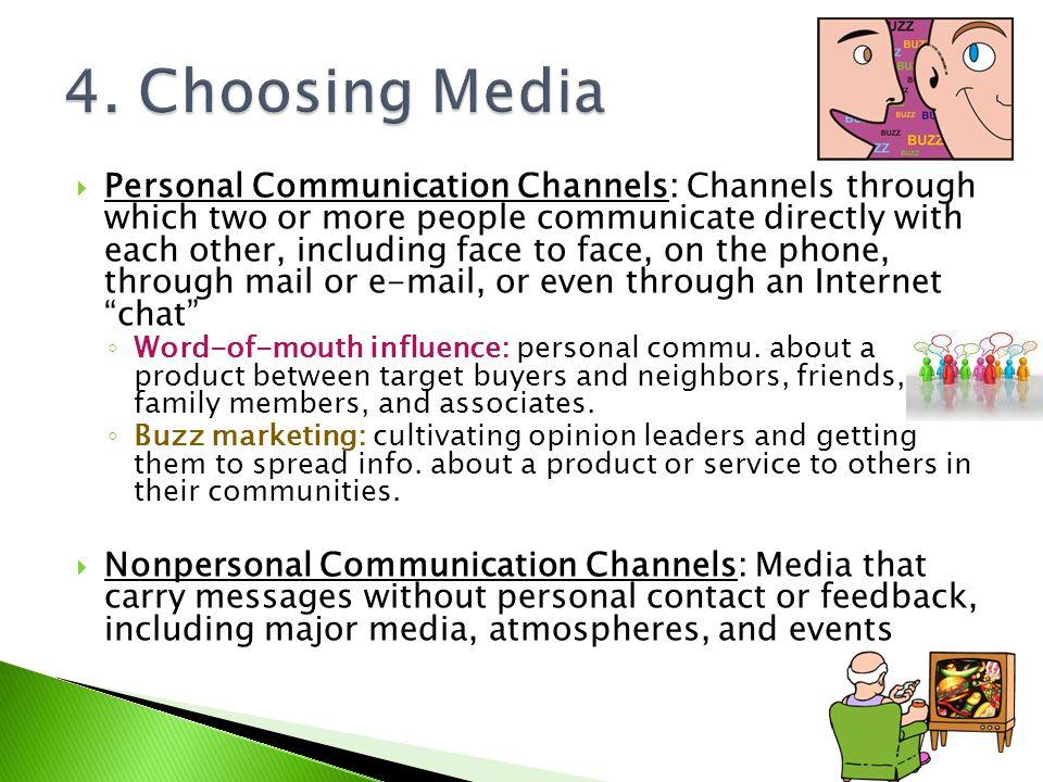 4. Choosing Media
