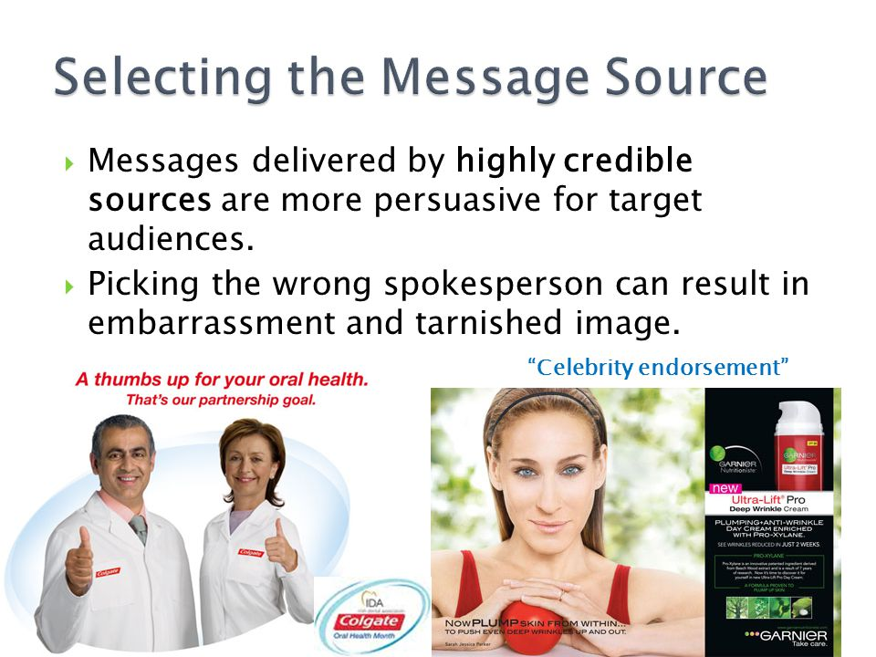 Selecting the Message Source