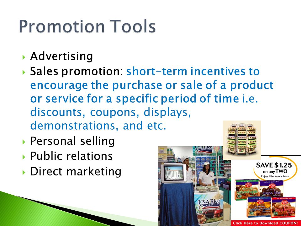 Promotion Tools Advertising
