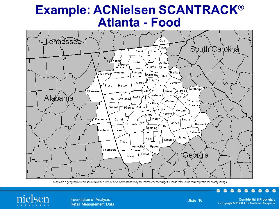 Example: ACNielsen SCANTRACK®