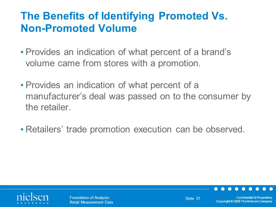 The Benefits of Identifying Promoted Vs. Non-Promoted Volume