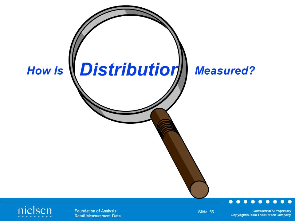 Distribution How Is Measured Notes: