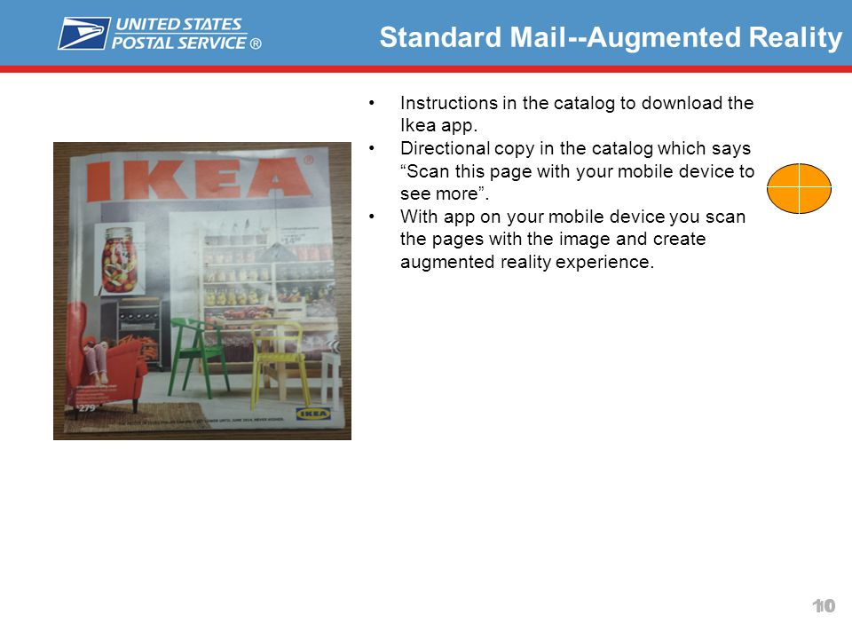 Standard Mail--Augmented Reality