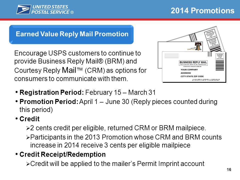 Earned Value Reply Mail Promotion