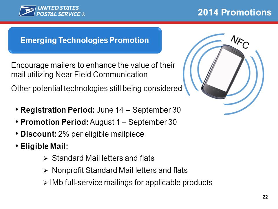 Emerging Technologies Promotion