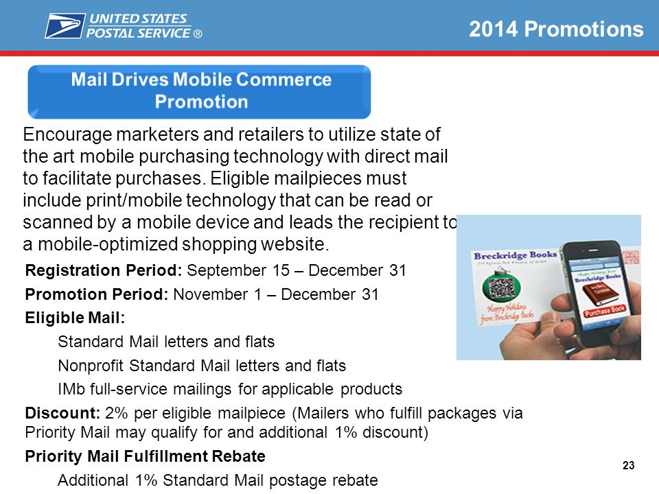 Mail Drives Mobile Commerce Promotion