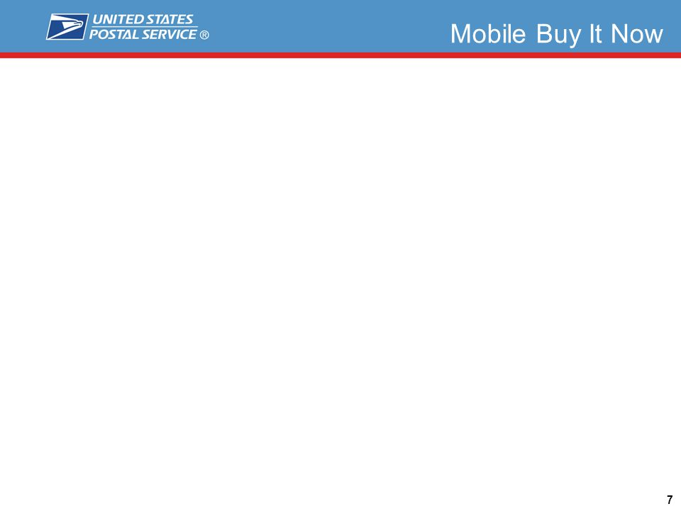 Mobile Buy It Now 7 Expedited Mail United States Postal Service