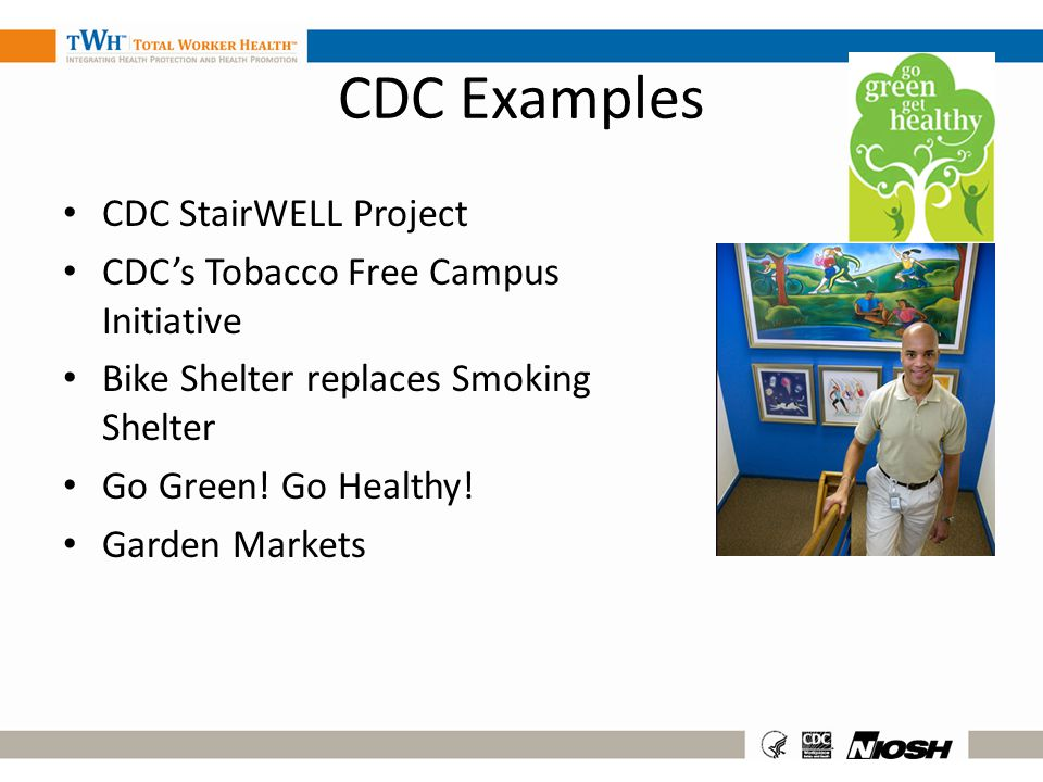 CDC Examples CDC StairWELL Project