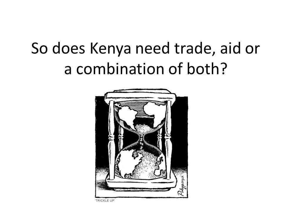 trade vs aid The ethics of trade and aid: development, charity or waste (think now) [christopher d wraight, james garvey, jeremy stangroom] on amazoncom free shipping on qualifying offers.