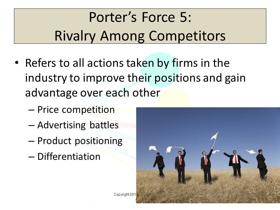 Porter's Force 5: Rivalry Among Competitors