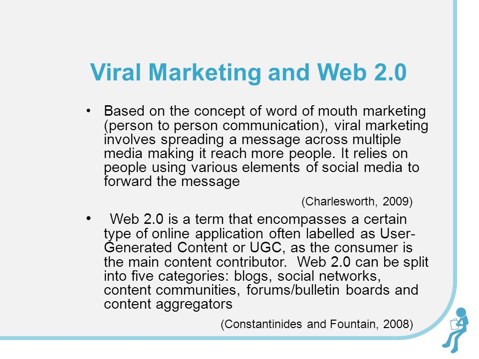 Viral Marketing and Web 2.0