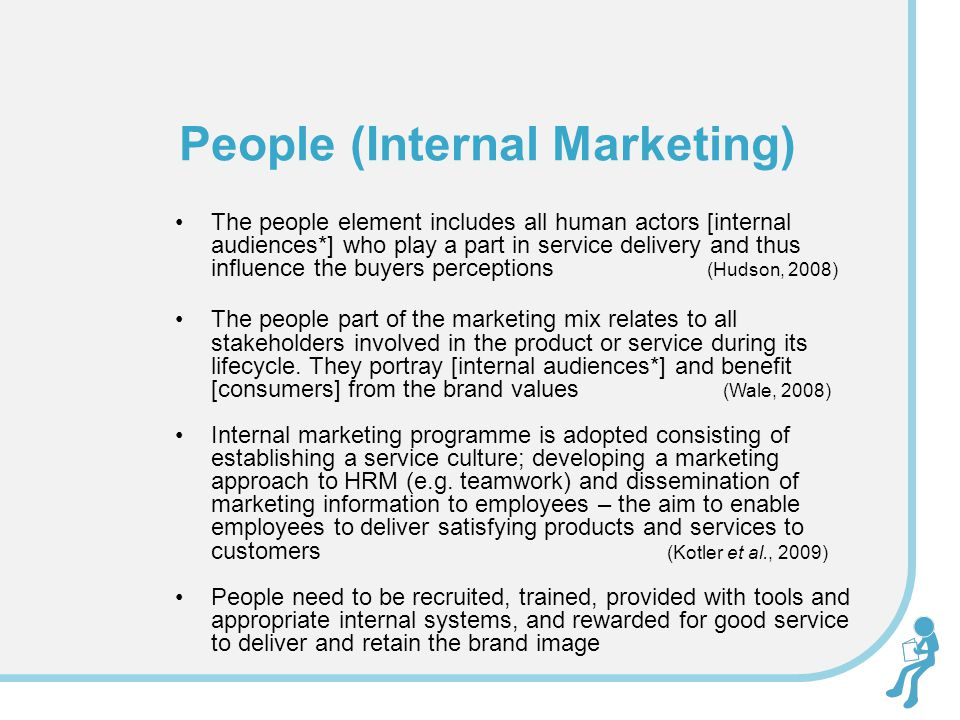 People (Internal Marketing)
