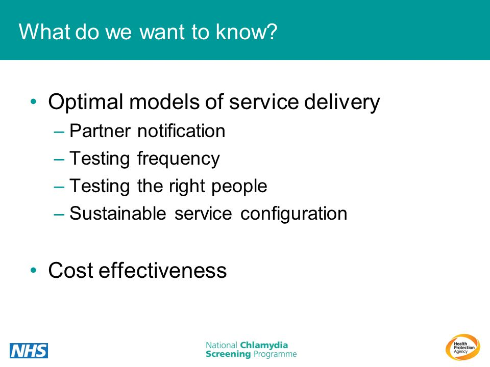 Optimal models of service delivery