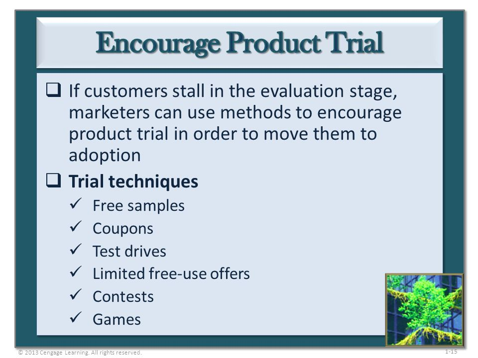 Encourage Product Trial