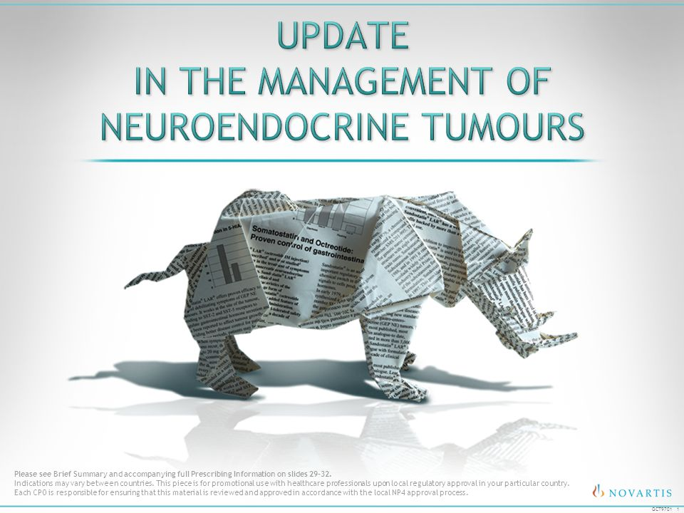 Update in the Management of Neuroendocrine Tumours