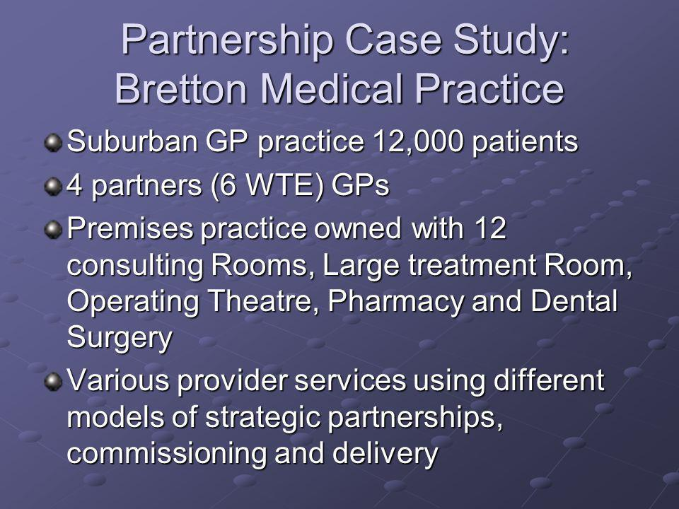 Partnership Case Study: Bretton Medical Practice