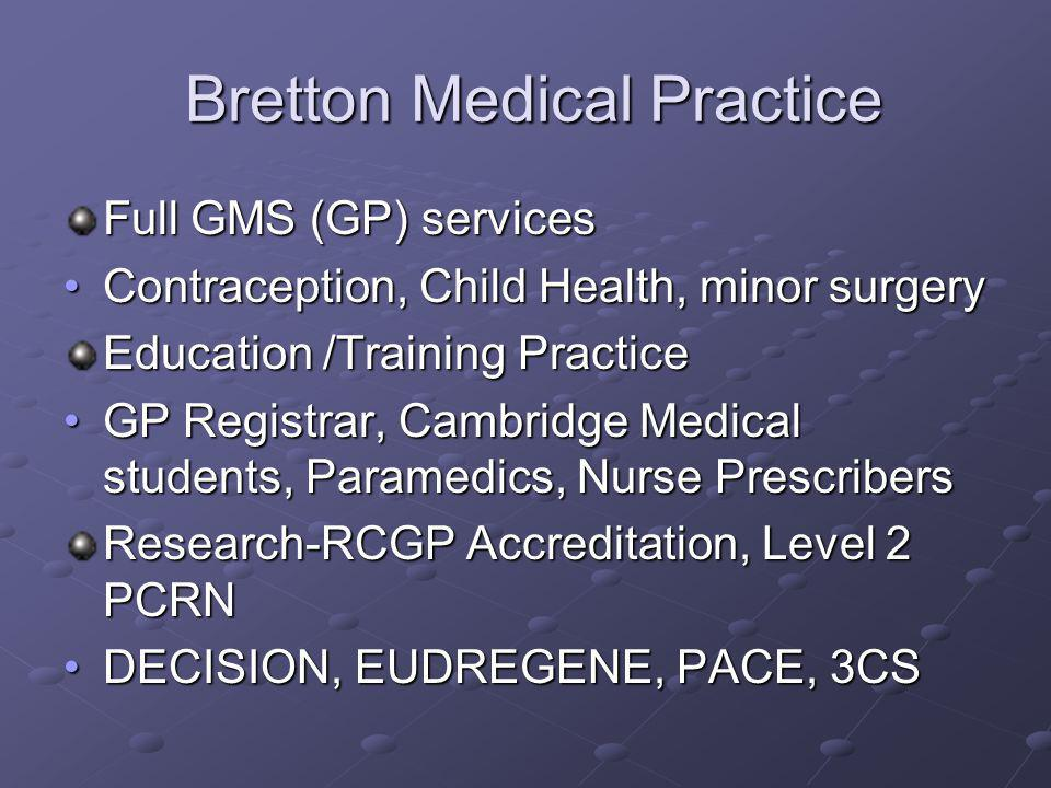 Bretton Medical Practice
