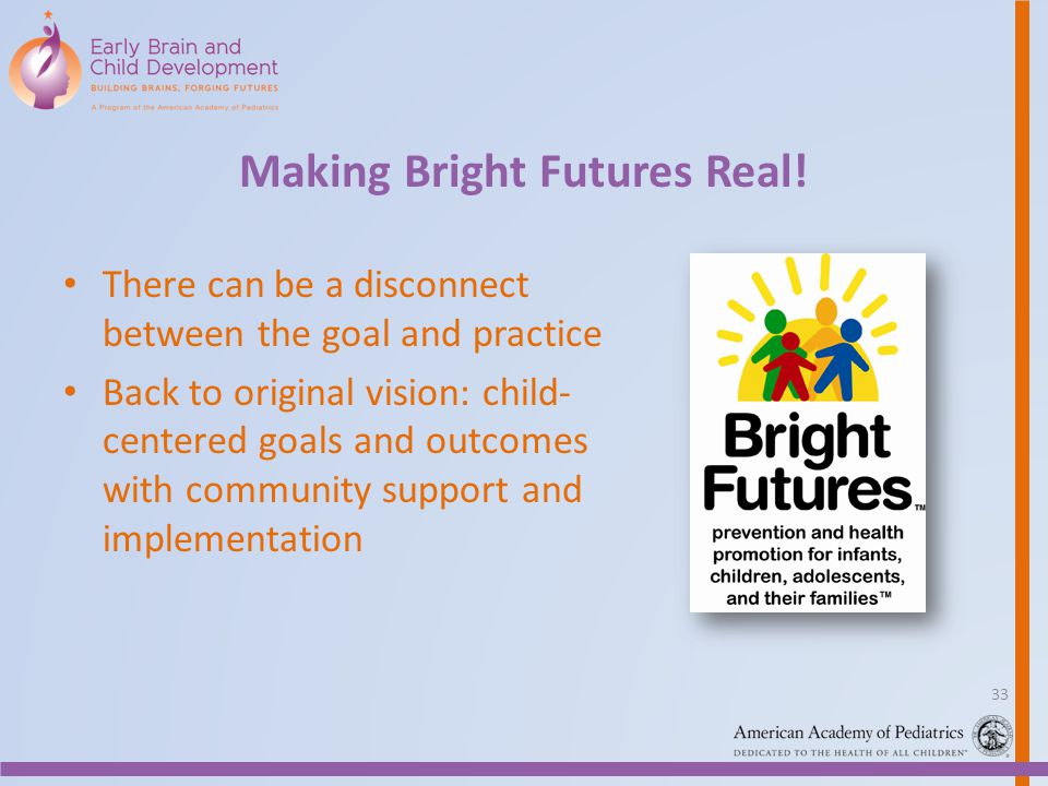 Making Bright Futures Real!