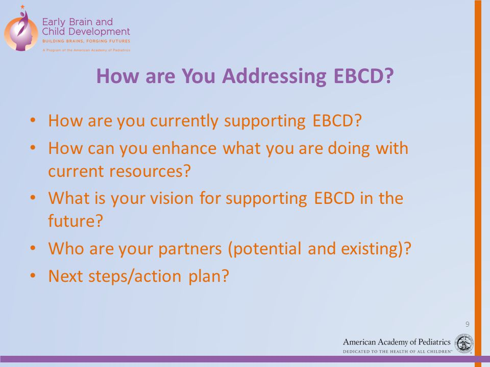 How are You Addressing EBCD