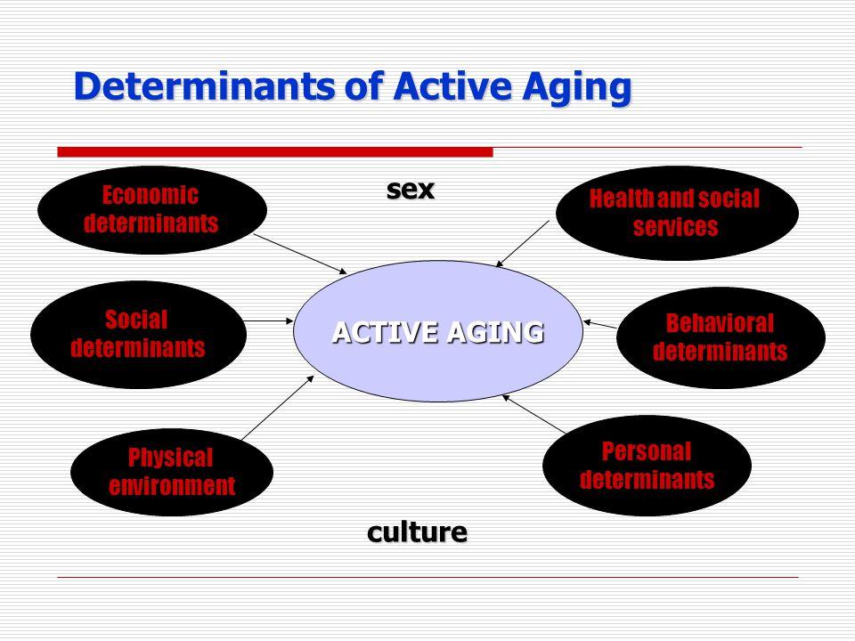 Determinants of Active Aging