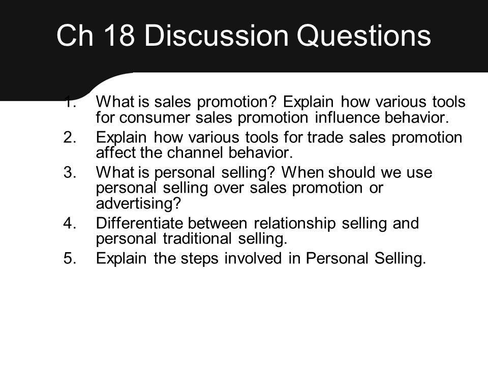 Ch 18 Discussion Questions