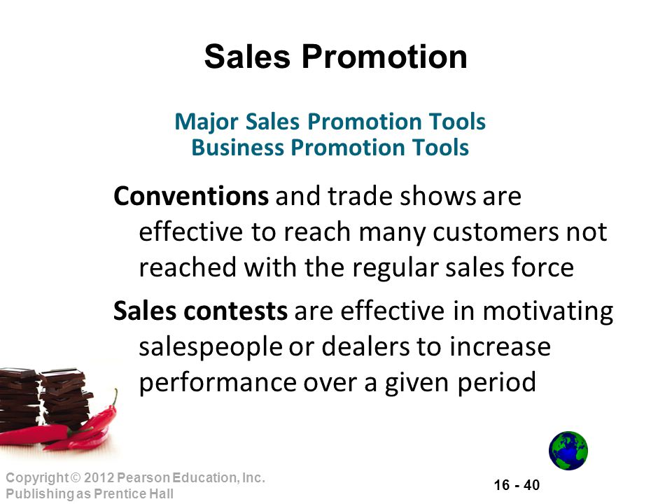 Major Sales Promotion Tools Business Promotion Tools
