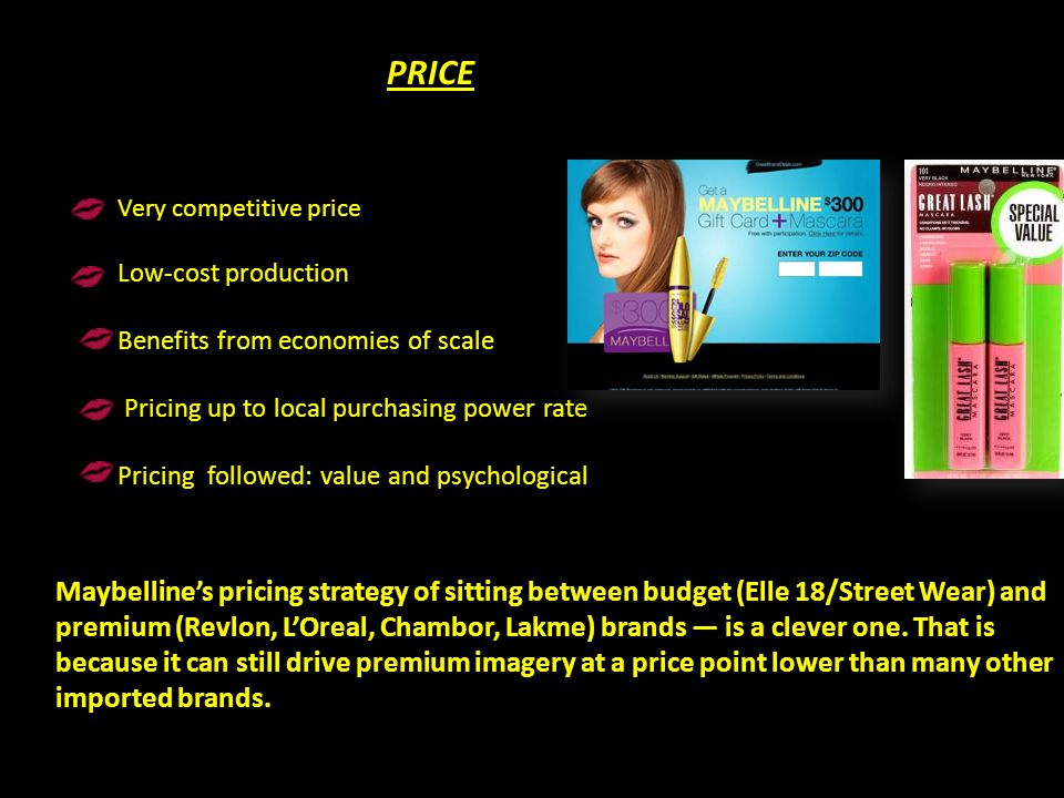 PRICE Very competitive price. Low-cost production. Benefits from economies of scale. Pricing up to local purchasing power rate.