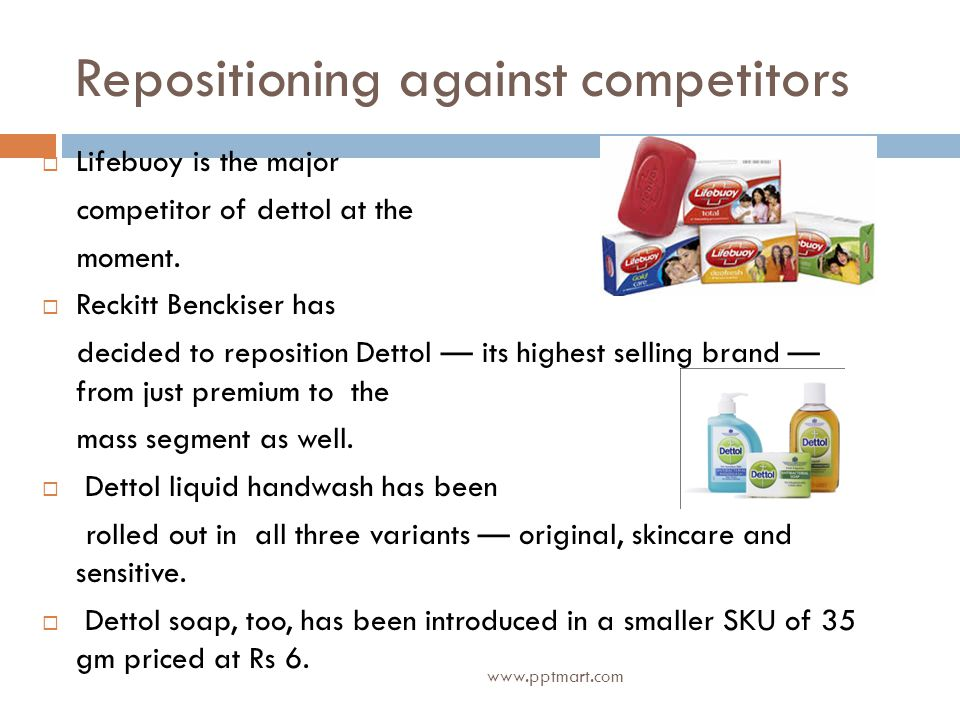 Repositioning against competitors