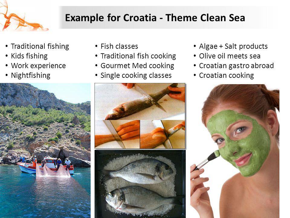 Example for Croatia - Theme Clean Sea