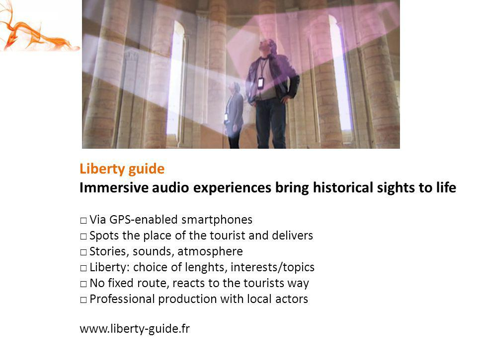 Immersive audio experiences bring historical sights to life