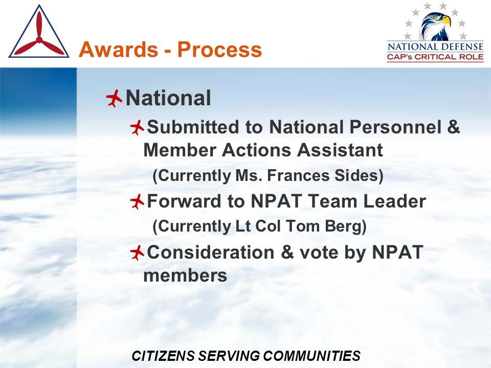 Awards - Process National