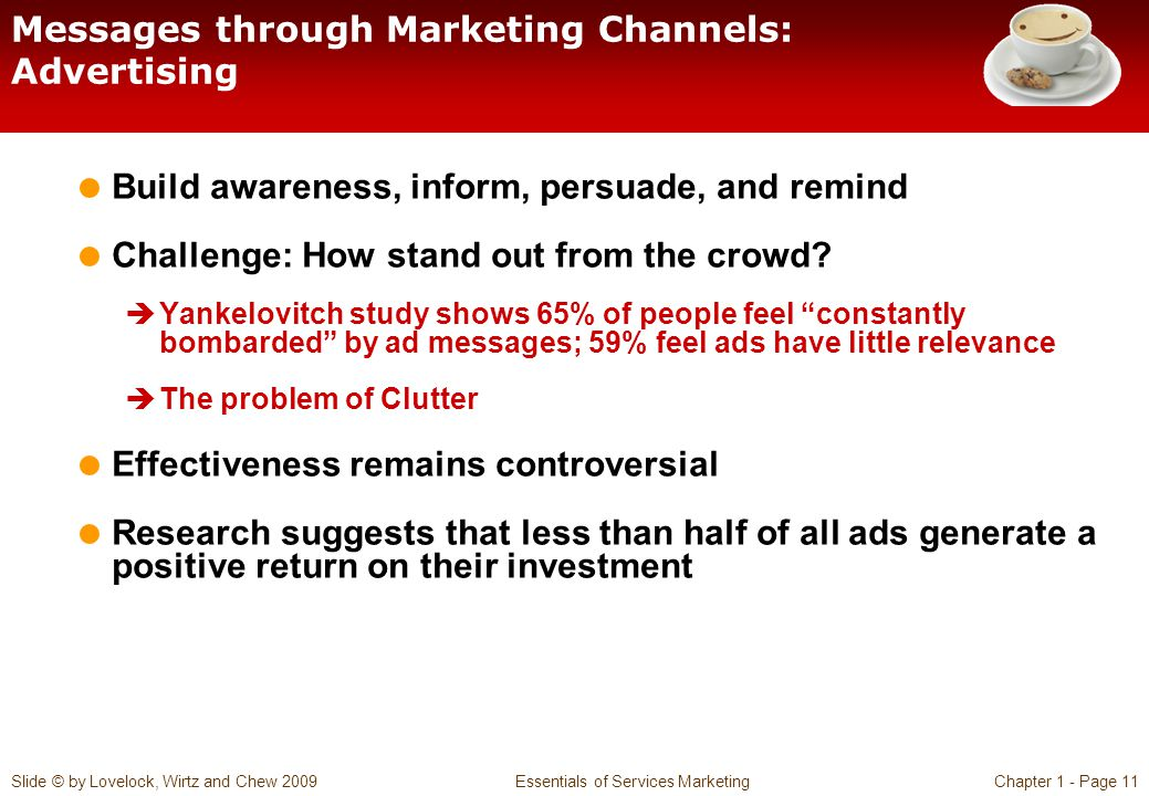 Messages through Marketing Channels: Advertising