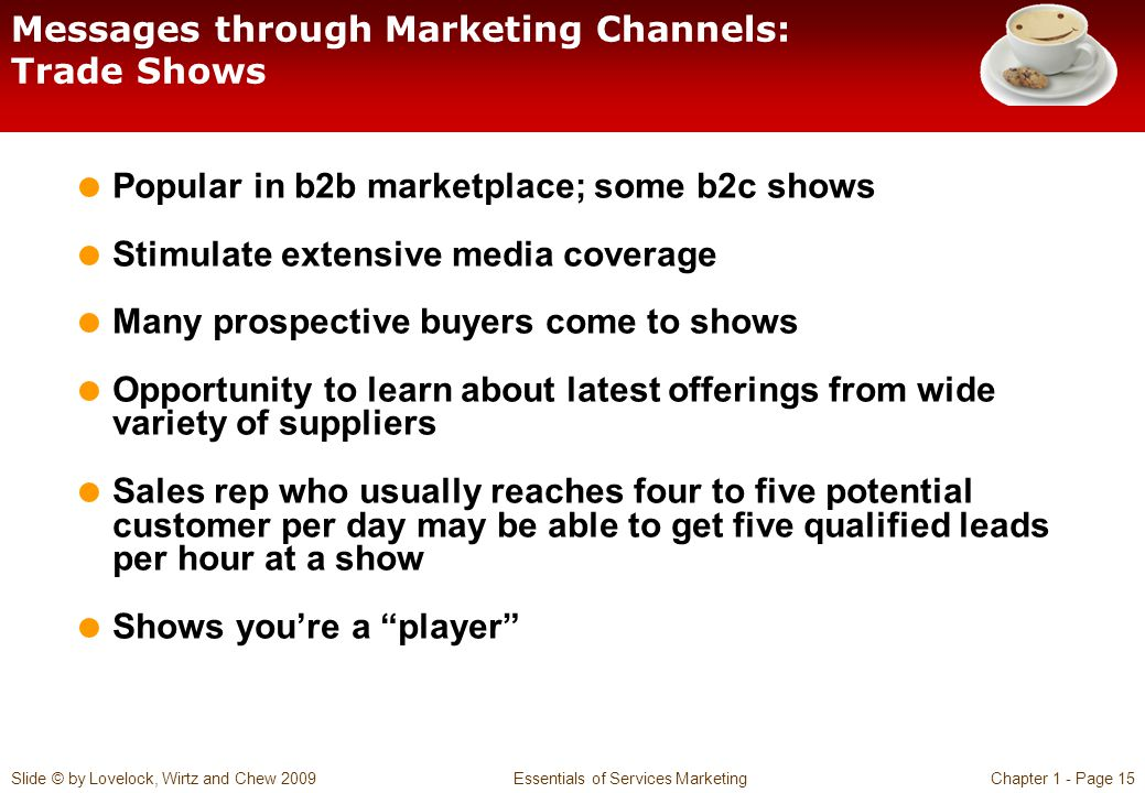 Messages through Marketing Channels: Trade Shows