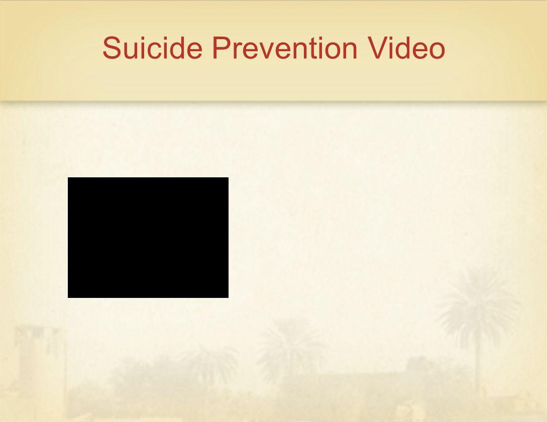 Suicide Prevention Video