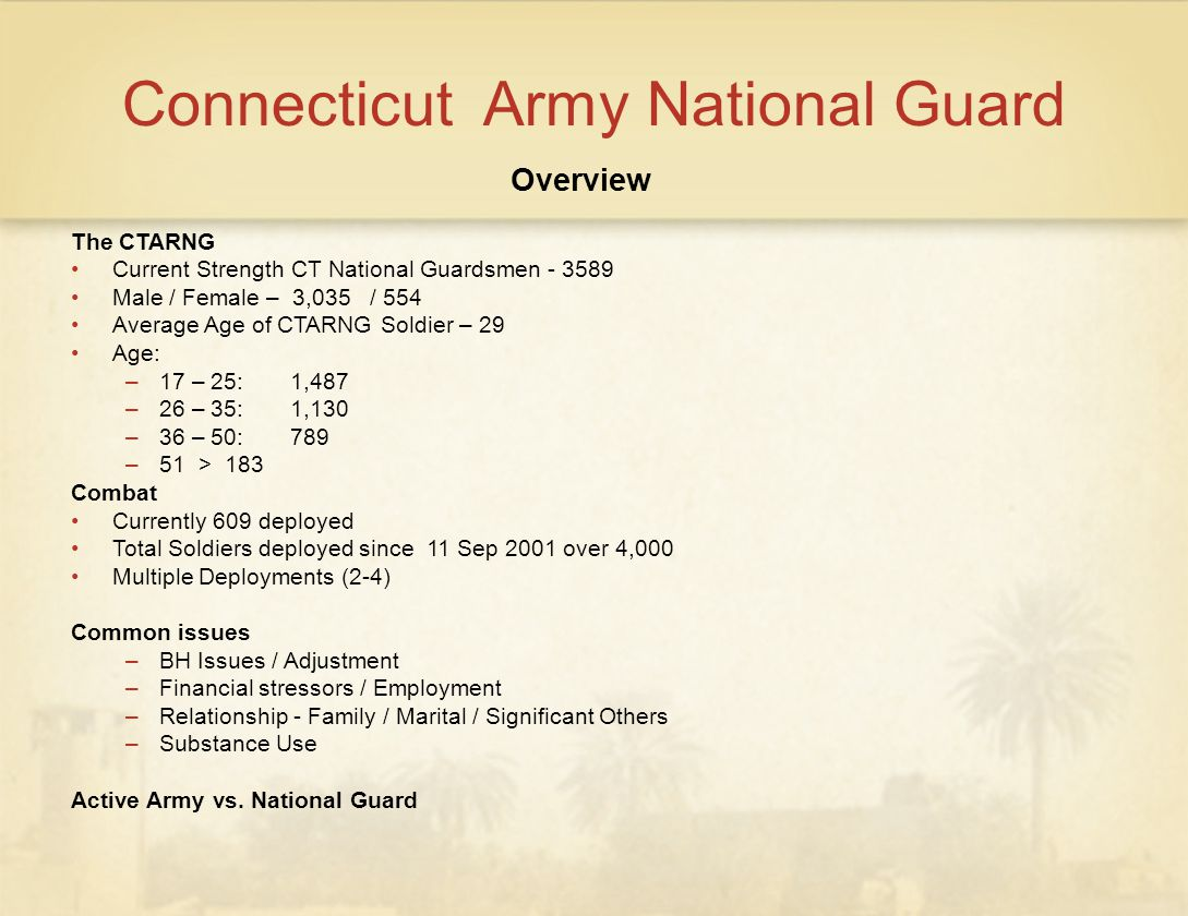 Connecticut Army National Guard