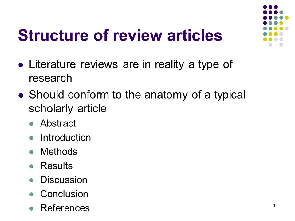 literature article The following five literature review attempt to demon- in a research article by salzman literature being.