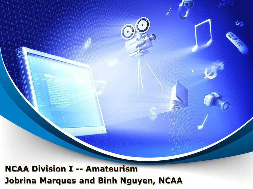 NCAA Division I -- Amateurism