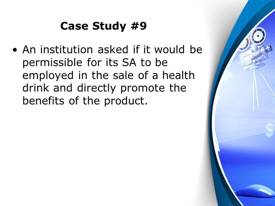 Case Study #9
