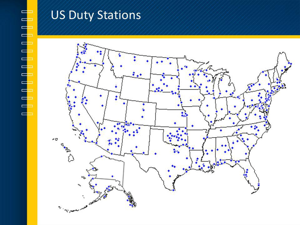 US Duty Stations