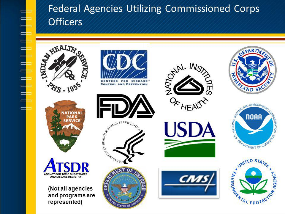 Federal Agencies Utilizing Commissioned Corps Officers