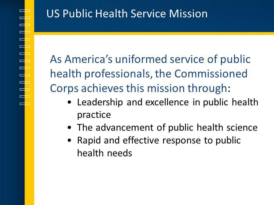 US Public Health Service Mission