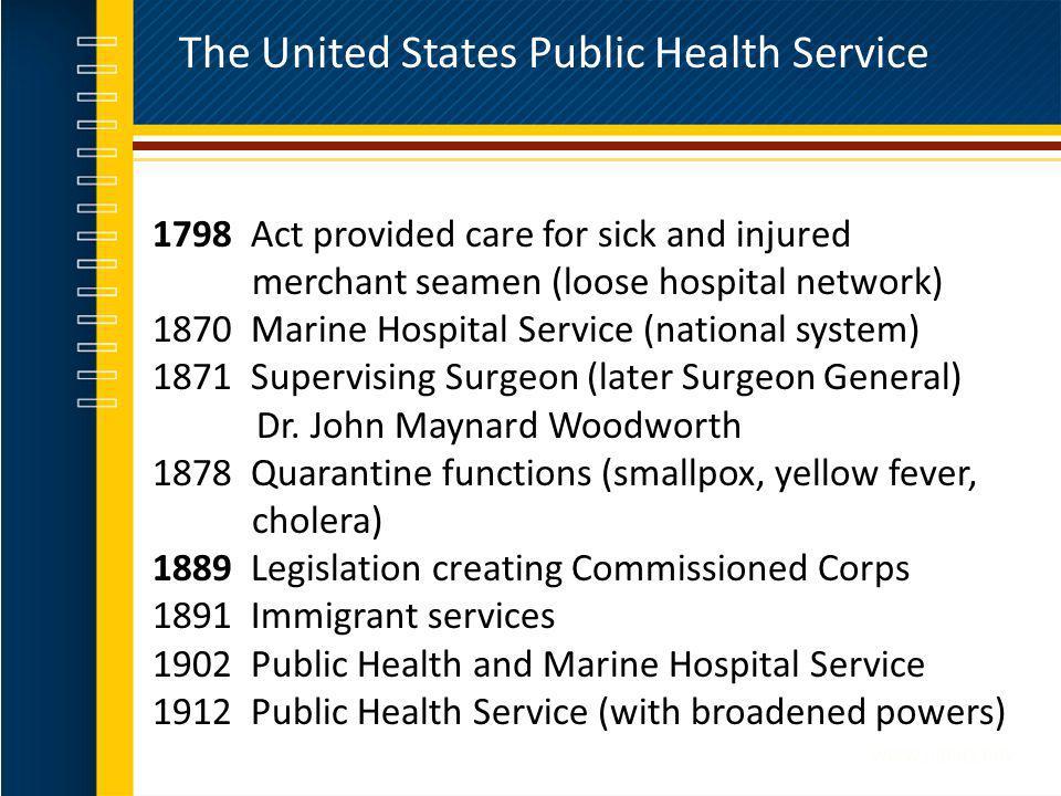 The United States Public Health Service