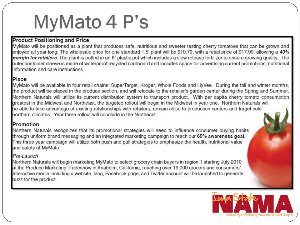 MyMato 4 P's Darrin / Andy