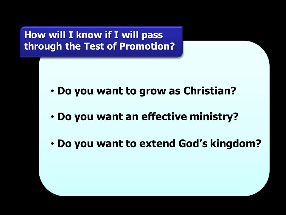 Do you want to grow as Christian