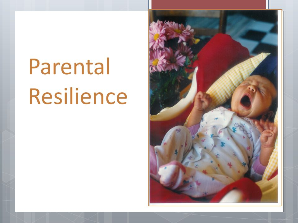 Parental Resilience Training Points: