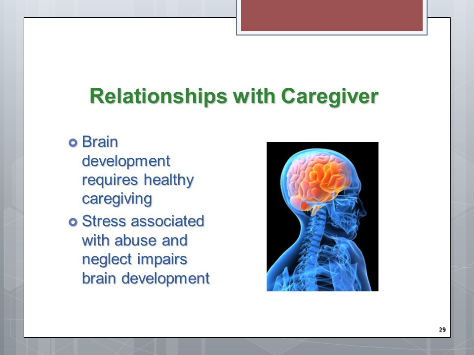 Relationships with Caregiver