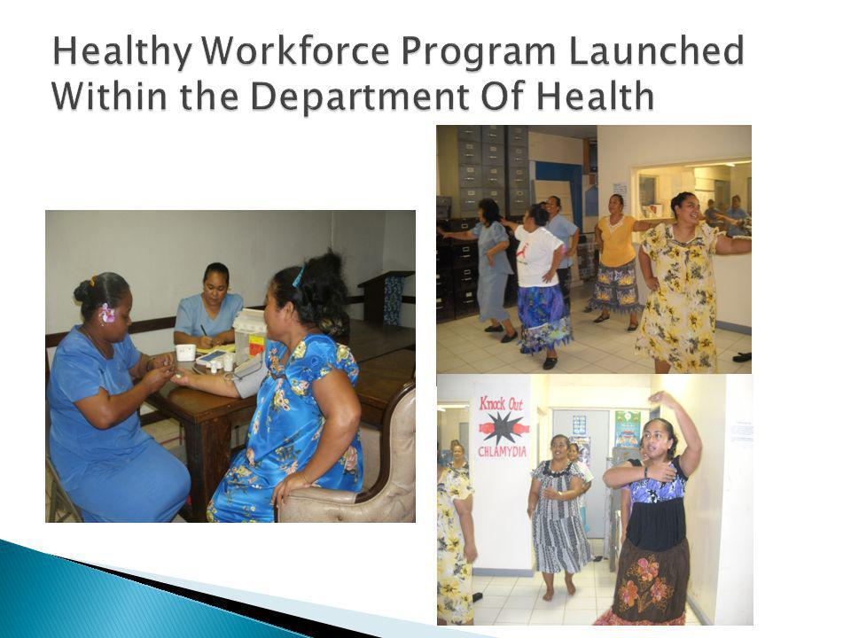 Healthy Workforce Program Launched Within the Department Of Health