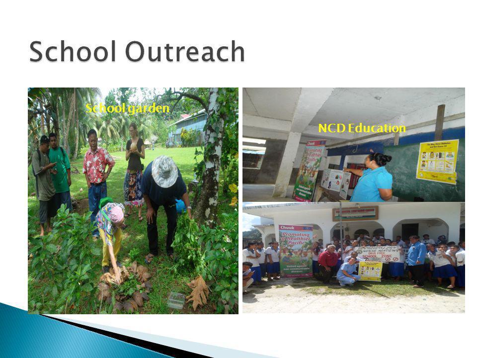 School Outreach School garden NCD Education